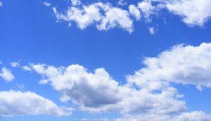Blauwe lucht, en goede gezondheid
